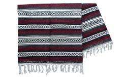 Mexican blanket - Falsa - XL - Brown