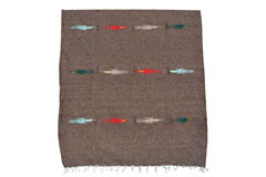 Mexican blanket - Solid - L - Green