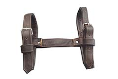Cinghia in pelle -   -   -  Marrone - UWRZZ0darkbrownbelt