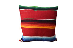 Cushion cover - Serape - S - Red