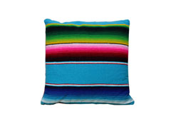 Cushion cover - Serape - S - Turquoise