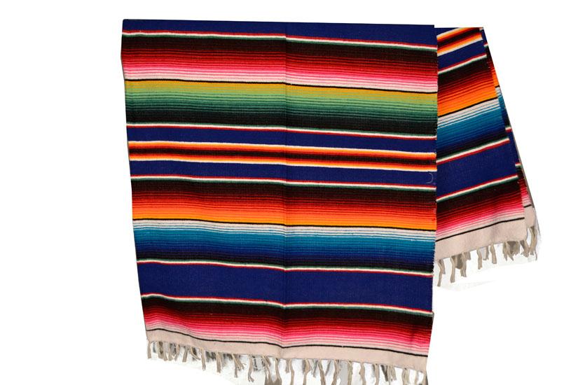 couverture mexicaine serape (sarape) - XL