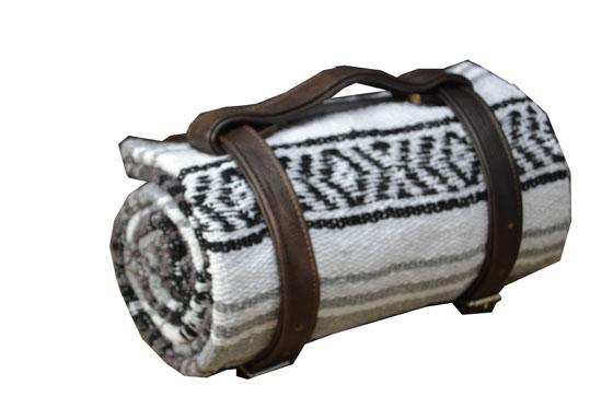 Blanket + belt - Falsa - L - Grey - 2MSZZ0greyX