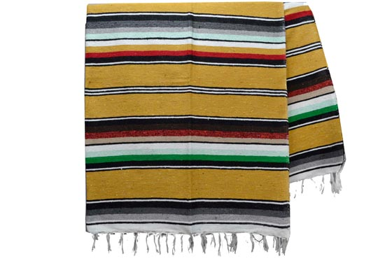 Mexican blanket - Serape - XL - Yellow