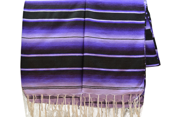 Mexican blanket, Serape. Purple