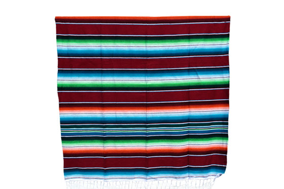 Mexican blanket - Serape - XL - Brown - BBXZZ0brown