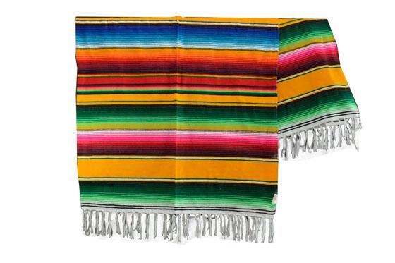 Mexican blanket - Serape - XL - Yellow - BBXZZ0yellow2