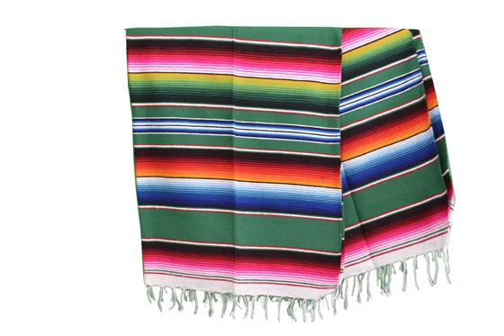 Mexican blanket - Serape - L - Green - BPXZZ0green
