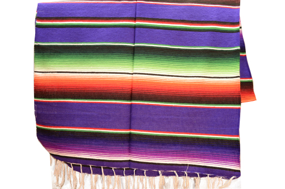 Mexican blanket - Serape - M - Purple