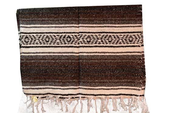 Mexican blanket,Falsa. Brown