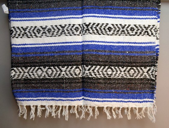Scarf   Table runner,Falsa. Blauw