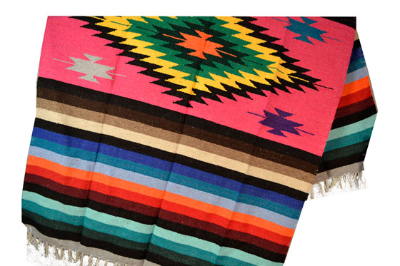 Mexican blanket, Indian. Pink