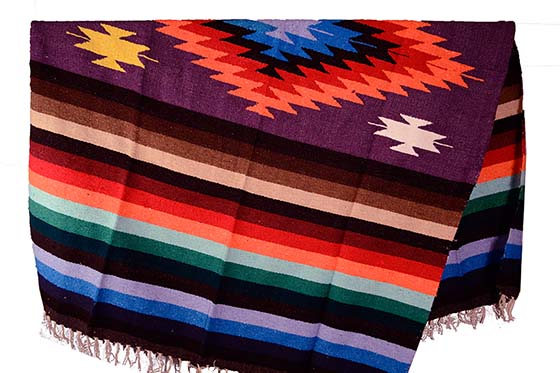 Mexican blanket, Indian. Purple