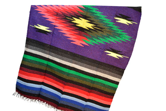 Mexican blanket - indian - L - Purple - EEEZZ0DGpurple14
