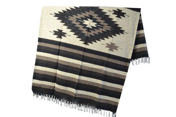 Mexican blanket - indian - L - Brown - EEEZZ1DGnatbrown