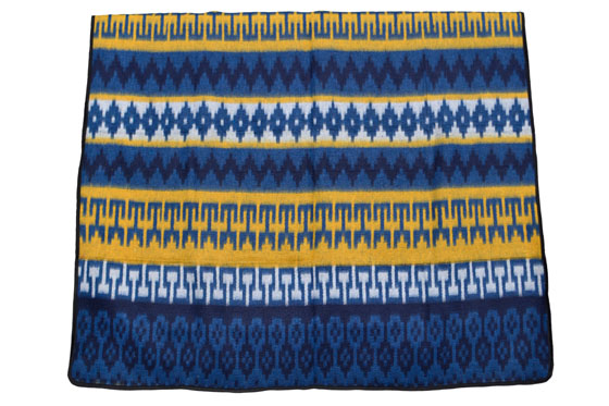 Couverture mexicaine -  Western - XL - Blue