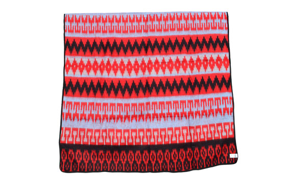 Mexican blanket - Western - XL - Red