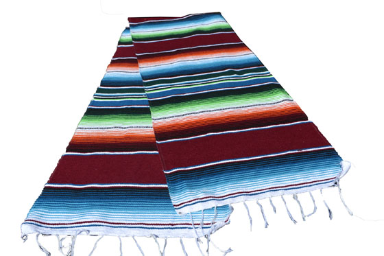 Chemin de table -  Serape - S - Brun