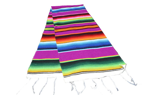 Chemin de table -  Serape - S - Rose - GVXZZ0fuchsia