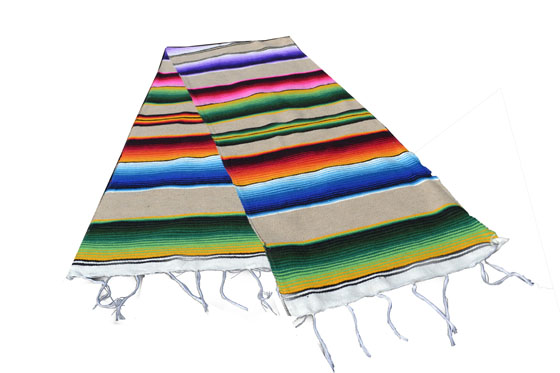 Chemin de table -  Serape - S - Naturel