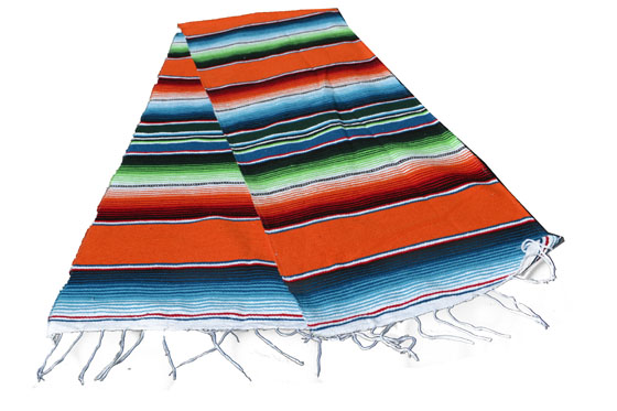 Chemin de table -  Serape - S - Orange