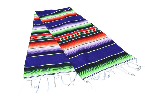 Chemin de table -  Serape - S - Violet