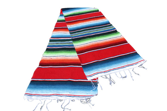 Chemin de table -  Serape - S - Rouge - GVXZZ0red