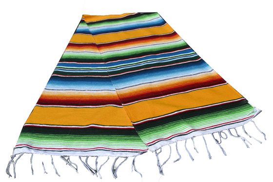 Table runner - Serape - S - Yellow