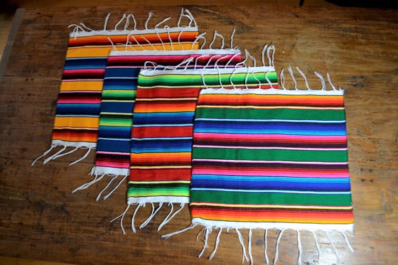 sets de table -  Serape - S