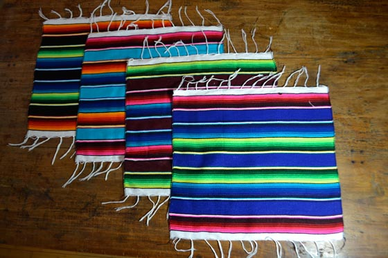sets de table -  Serape - S - IGSZZ02