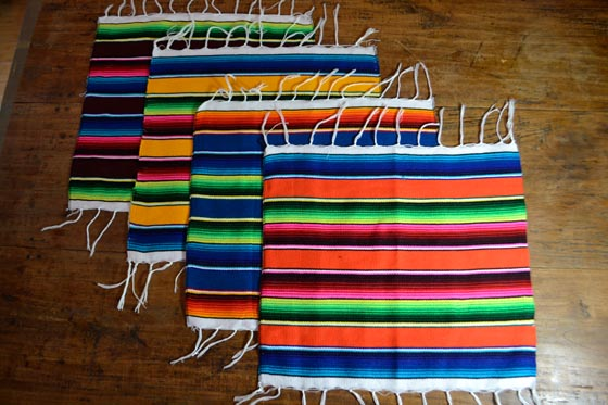sets de table -  Serape - S - IGSZZ05