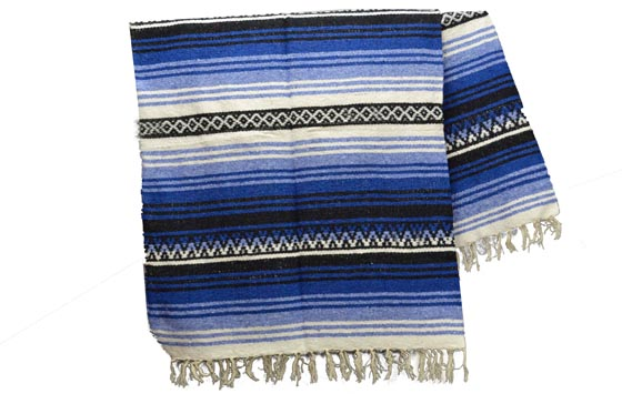 Mexican blanket - Falsa - XL - Blue - KXOZZ0blu