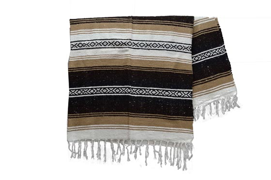 Coperta messicana -  Falsa -  XL -  Marrone