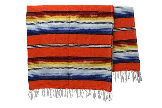 Mexican blanket - Falsa - XL - Orange