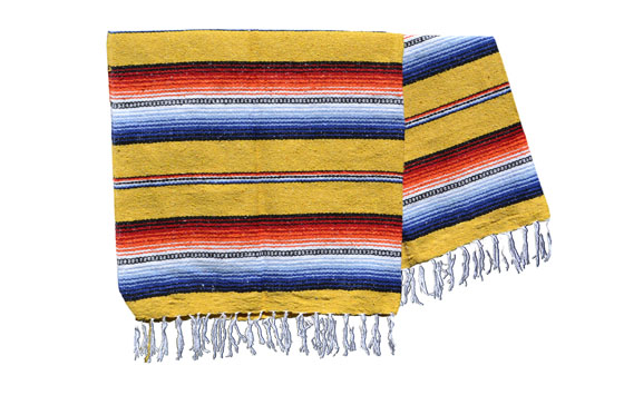 Mexican blanket - Falsa - XL - Yellow