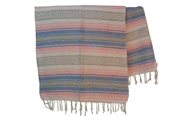 Mexican blanket - Falsa - L - Pink