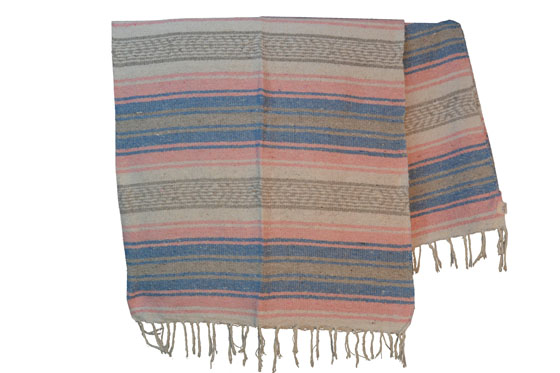 Mexicaanse deken - Falsa - L - Roze