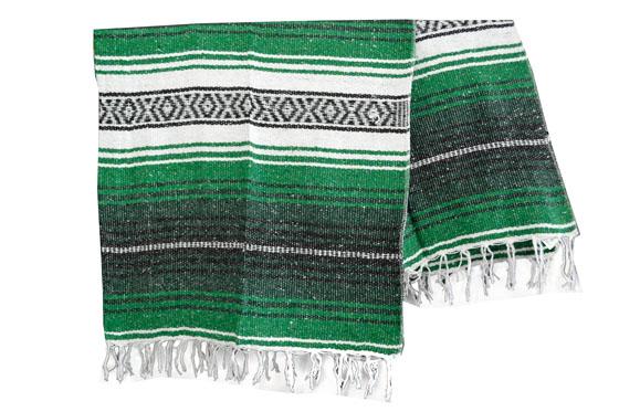 Mexicaanse deken - Falsa - L - Groen - MSXZZ0green3