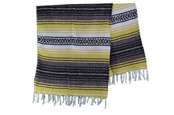 Mexican blanket - Falsa - L - Yellow - MSXZZ0yellow