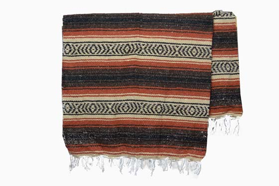 Mexican blanket - Falsa - L - Brown - MTXZZ0brown1