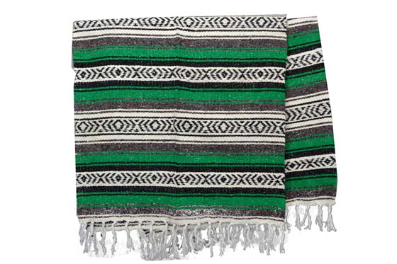 Mexican blanket - Falsa - XL - Green