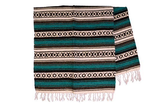 Mexican blanket,Falsa. Groen