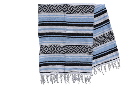 Mexican blanket - Falsa - XL - Blue - MUXZZ0bwblu