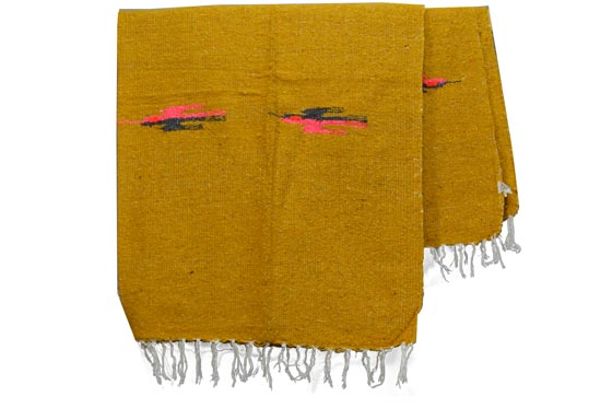 Mexican blanket - Solid - L - Yellow