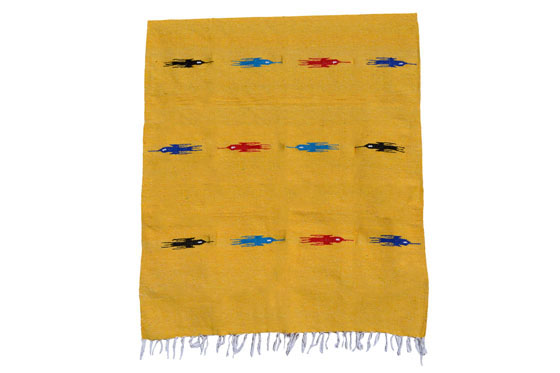 Mexican blanket - Solid - L - Yellow - QEXZZ0yellow