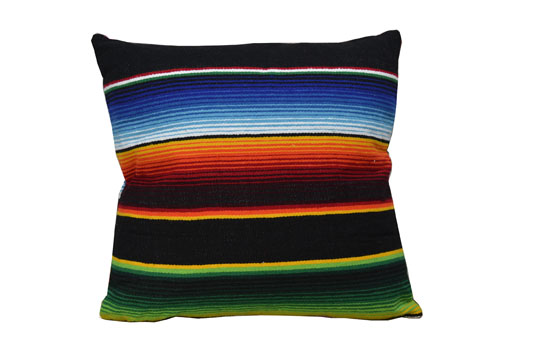 Cushion cover - Serape - S - Black