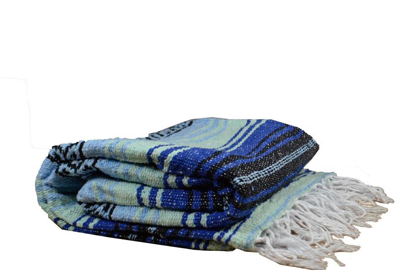 Blanket + belt - Falsa - L - Blue - 1MSZZ0blumintX