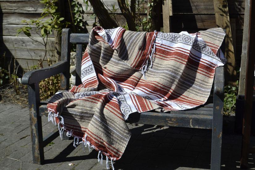 Decke + Gürtel -  Falsa - L - Braun  - 1MSZZ0brown2X