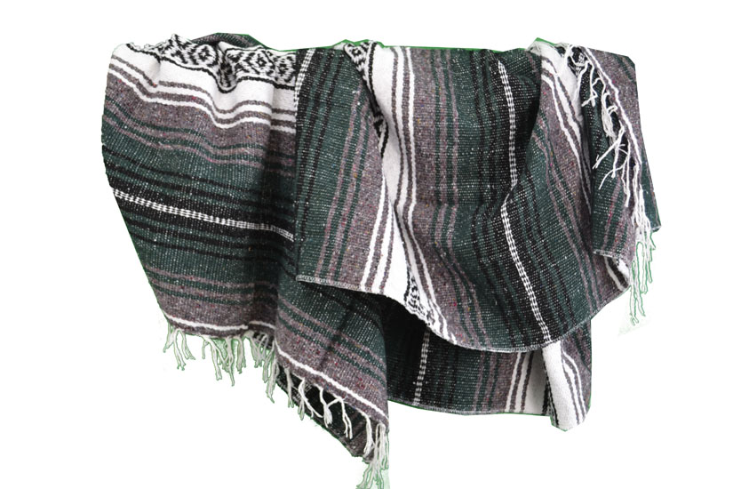 Blanket + belt - Falsa - L - Green - 1MSZZ0greengreyX