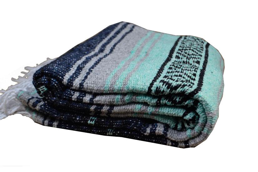 Decke + Gürtel -  Falsa - L - Blau  - 1MSZZ0mintbluX